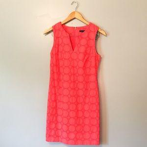 NWT Banana Republic pink eyelet dress size 2